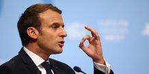 Macron multiplie les contacts sur le proche-orient