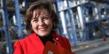 Carole Delga à BASF
