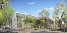 Le futur Conservatoire à rayonnement régional de Montpellier