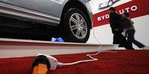 BYD auto chine automobile véhicules électriques voitures