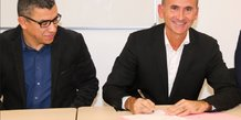 J. Benabdillah (LeadeR Occitanie) et M. Bauland (MBS)