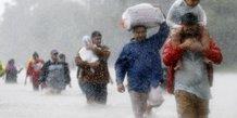 L'impact des ouragans amplifie par le dereglement climatique
