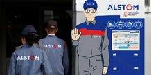 Alstom: bond des commandes, fusion avec siemens prevue fin 2018