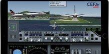 CEFA Aviation, animation des données de vol, aviation civile, formation des pilotes de ligne