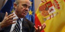 Luis de Guindos ministre espagnol BCE
