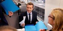 Macron SNCF