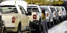 Usa: baisse des ventes des constructeurs automobiles en fevrier