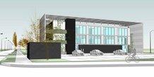 Le bâtiment qui abritera l'entreprise MIREIO à Castelnau-le-Lez (34)