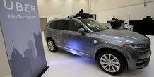 La voiture autonome doit faire ses preuves apres l'accident d'uber