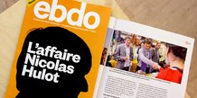 Ebdo, magazine, couverture, Hulot,