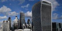 La city revoit a la baisse les delocalisations avec le brexit