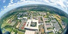 Ecole Polytechnique, X, plateau Saclay, vue aérienne, DR