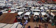 Ouganda véhicules Kampala